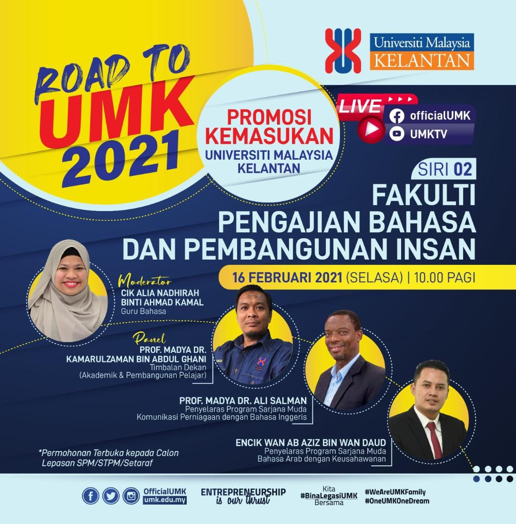 Program Promosi Road to UMK 2021